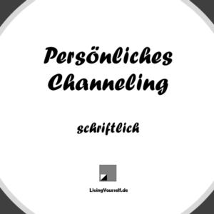 Seelenbotschaft oder Channeling schriftlich
