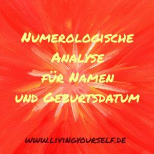 Numerologische Analyse